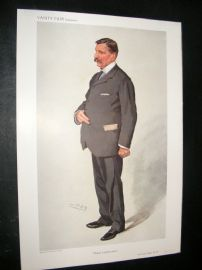 Vanity Fair Print 1910 Sir Philip Watts
